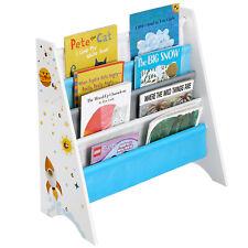 Bücherregal für Kinder Kinderzimmerregal Spielzeug-Organizer Kippschutz GKR72WT