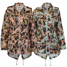 Floral Polyester Outer Shell Coats, Jackets & Waistcoats for Women