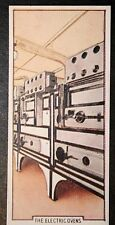 RMS QUEEN MARY  Cunard Liner  ELECTRIC OVENS  1930's Vintage Card # VGC