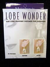 Damaged,Stretched & Torn Earlobes(1 Box) Lobe Wonder Earring Support Patches for