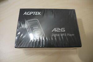 Brand New Sealed AGPTEK A26 8G Bluetooth MP3 Player, FM Radio Music Player
