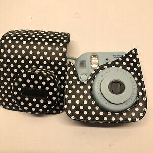 Fuji Instant Camera Instax Mini 8 Pastel Blue Retro Polaroid Picture Style Case