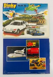 VINTAGE DINKY DIE CAST TOYS CATALOGUE EDITION No 14 1978