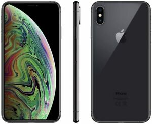 Apple iPhone XS Max 64 GB Unlocked Smartphone Excellent Condition Grey & Silver