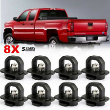 8PCS Car accessories Tie Down Anchor Truck Bed Side Wall Anchors for Chevy GMC
