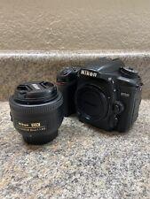 Nikon D7500 20.9MP Digital SLR Camera W/ Nikon 35mm f1.8G Lens
