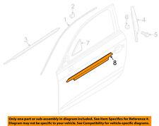 AUDI OEM 15-16 A3-Door Window Sweep-Belt Molding Weatherstrip Left 8V5853283AT94