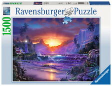 1500 Teile Ravensburger Puzzle Christian Lassen Sonnenaufgang im Paradies 16359