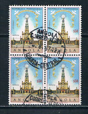 Angola 1966 Fatima Apparitions 50th Anniversary block of four o/FU SG 660 Af 518