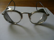 Vintage AMERICAN OPTICAL (AO) MOTORCYCLE SAFETY GLASSES/GOGGLES c. 1930 USA