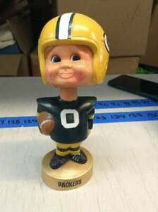 Vintage 1970's-1980's Green Bay Packers Bobblehead Nodder by Sports Specialties