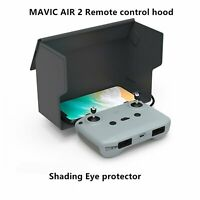 Foldable Phone Sun Shade Hood Sunshade For DJI Mavic Air 2 Remote Control Black