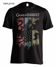 Official T Shirt Game of Thrones Distressed Torn Banners House Sigils All Sizes XL
