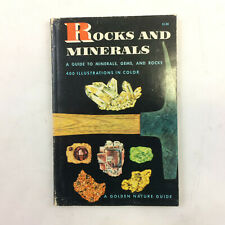 Rocks And Minerals Golden Nature Guide By Herbert S. Zim Gems Stone 1957 Vintage