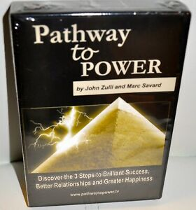 PATHWAY TO POWER By John & Marc Savard Vintage Audio Cd - NEW/FACTORY SEALED....