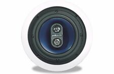 Polk Audio RC6s In-Ceiling Single Stereo Speaker Kitchens, Bathrooms Small Rooms