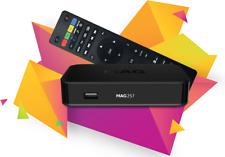 MAG 256/257 Genuine Infomir Set-Top Box IPTV/OTT HD 12 Months + VOD 100%Quality
