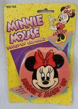 New listing Disney Minnie Mouse Make-Up Compact Mirror Perfume Blush Lip Gloss Toy Pretend
