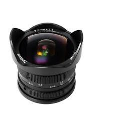 Obiettivo 7artisans 7.5mm f/2.8 fish-eye per Olympus/Panasonic micro-4/3
