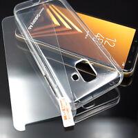Silikon Hülle + Panzerfolie Case Handyhülle Handytasche Schutzhülle Tasche Cover