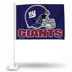 New York Giants 11X14 Window Mount 2-Sided Car Flag