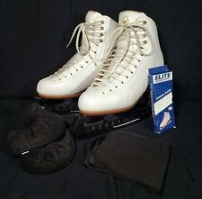 Jackson Freestyle D2190 Size 7.5 C - Guards, Soakers, Towel, & Extra Laces
