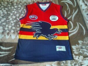 RARE AFL RFL JERSEY - ADELAIDE CROWS SIZE M