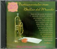 Las 20 Instrumentales Mas Bellas del Mundo Pop Strings Orch BRAND  NEW SEALED CD