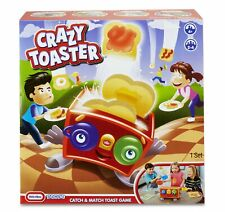 Little Tikes CRAZY TOASTER Catch and Match Toast Game Kids 4+