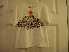 Toddler Gildan Sea Shells White Short Sleeve Sanibel Island T Shirt Size 3T New