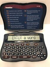 Franklin Spelling Ace with Thesaurus Model Sa-206 Fully tested Works Great Euc!