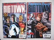 FANTASTIC FOUR: BIG TOWN N°1 A 4 RUN COMPLET VO NEUF / NEAR MINT / MINT