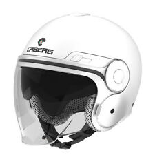Caberg Uptown Jet Open Face DVS Retro Scooter Motorcycle Helmet - White