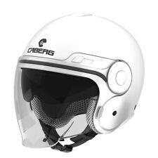 Caberg Uptown Jet Open Face DVS Retro Roller Motorrad Helm-weiß