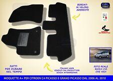 Tappetini Citroen C4 Picasso - Grand Picasso 2006>2010 tappeti auto no ricami
