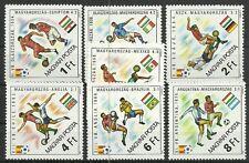 Hungría/fútbol-WM 1982 MiNr 3538/44 a **