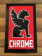 Chrome - Bicycle Cycling Sticker Decal