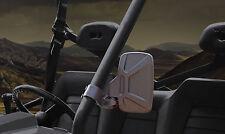 Polaris RZR Ranger UTV ABS Break-Away Side Mirror Qty-2 Shatter-Resistant Black