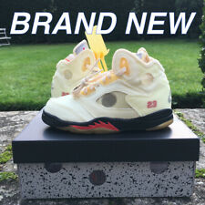 Jordan 5 Retro OFF-WHITE Sail Pre-School (PS) CV4827-100