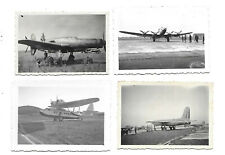 4 Photos  Aviation - 1930 / 1950 - Catalina, Bomber 162 Bloch, Dornier DO 335...