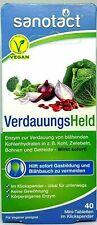 MHD Sanotact Verdauungsheld, Verdauungsenzyme, wirkt sofort, bei Blähbauch, 40T
