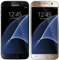 Samsung Galaxy S7 SM-G930V 32GB Black/GOLD GSM UNLOCKED (Verizon) Smartphone B