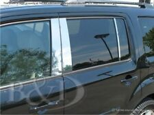 STAINLESS STEEL CHROME PILLARS FOR HONDA PILOT 2003-2008 6PCS