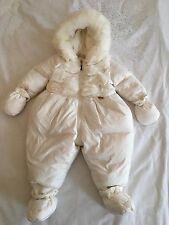 Baby Girls Miss Blumarine Snowsuit Size 3 Months