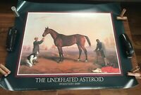 """Commemorative Derby Poster The Undefeated Asteroid Edward Troye 26.5""""x32.5"""""""