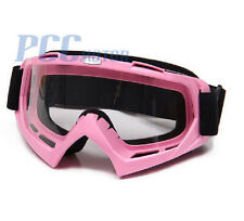 PINK DIRT BIKE ATV MOTORCYCLE GOGGLE MOTOCROSS I GOGGLE-PINK