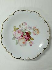 """SCHUMANN ARZBERG GERMANY PLATE - """"ANTIQUE ROSE"""" - 12"""""""