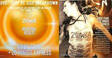 Zumba Fitness DVD Weight Loss! Quick Start (Steps Broken Down) & 20 Min. Express