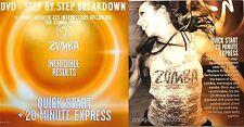 Zumba Fitness DVD Weight Loss! Quick Start (Steps Broken Down) & 20 Min. Express