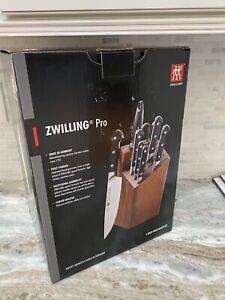 Zwilling J.A. Henckels 9 Piece Pro Knife Block Set Model 35694-116